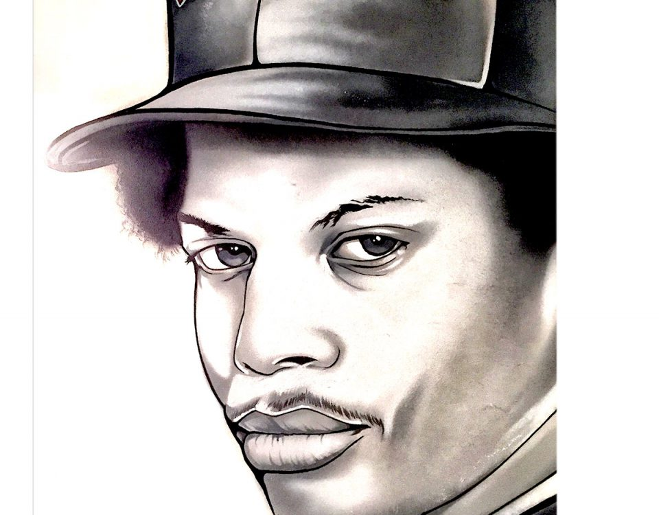 EAZY E Illustration